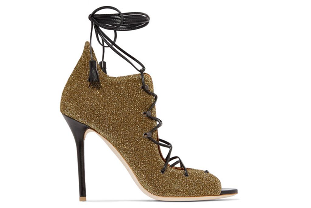 malone souliers, lurex sandals
