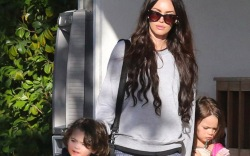 megan fox sons, dresses, kids