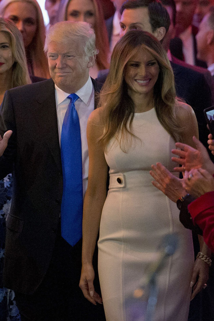 Donald Trump, Melania Trump, Michael Kors