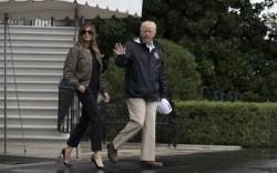 Melania Trump: Texas Travel Style