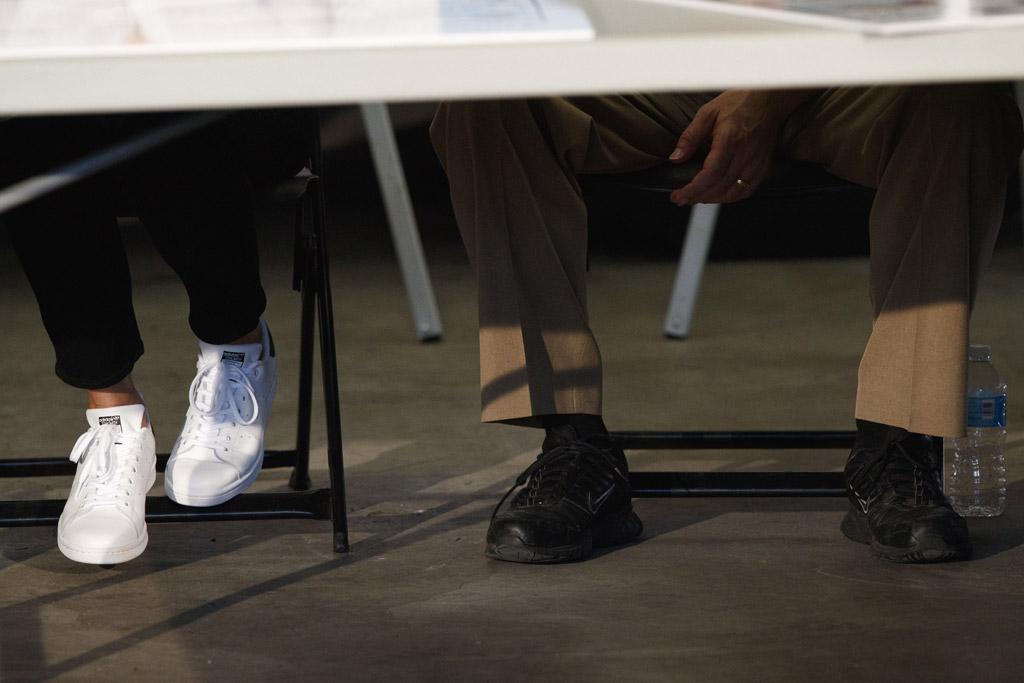 melania trump, shoes, adidas stan smith, sneakers, texas, corpus christi