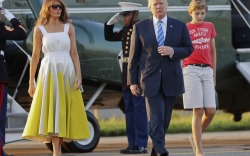 Trump Family Returns to White House