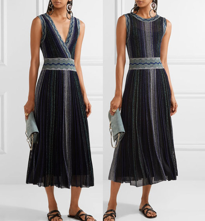 missoni, reverse dress