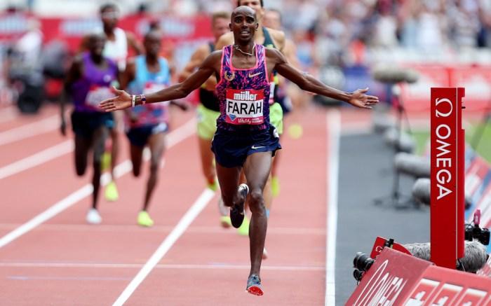 Mo Farah Nike