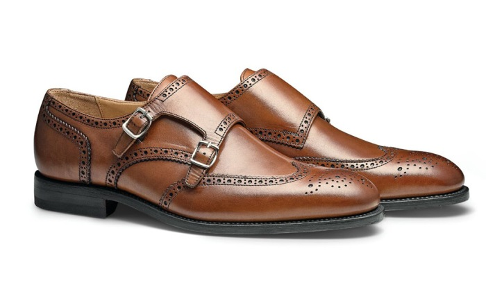 Moral Code double monk strap