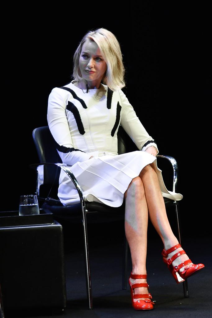 Naomi Watts, Louboutin, Times Talk
