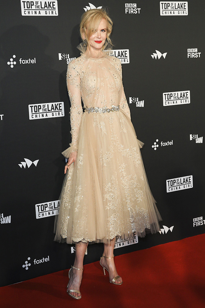 """Nicole Kidman at the """"Top of the Lake: China Girl"""" TV premiere in Sydney."""