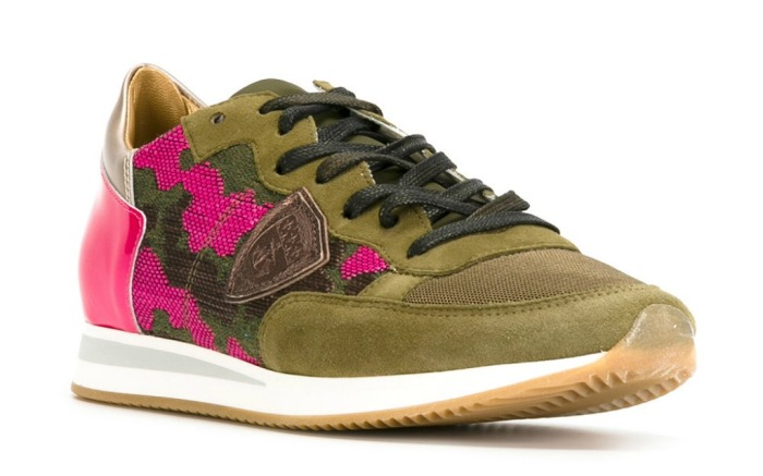 vans, Philippe Model camouflage sneakers