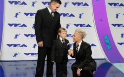 Pink with husband Carey Hart and