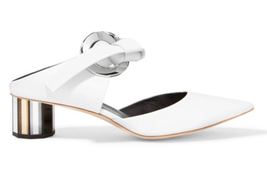 proenza schouler, white heels