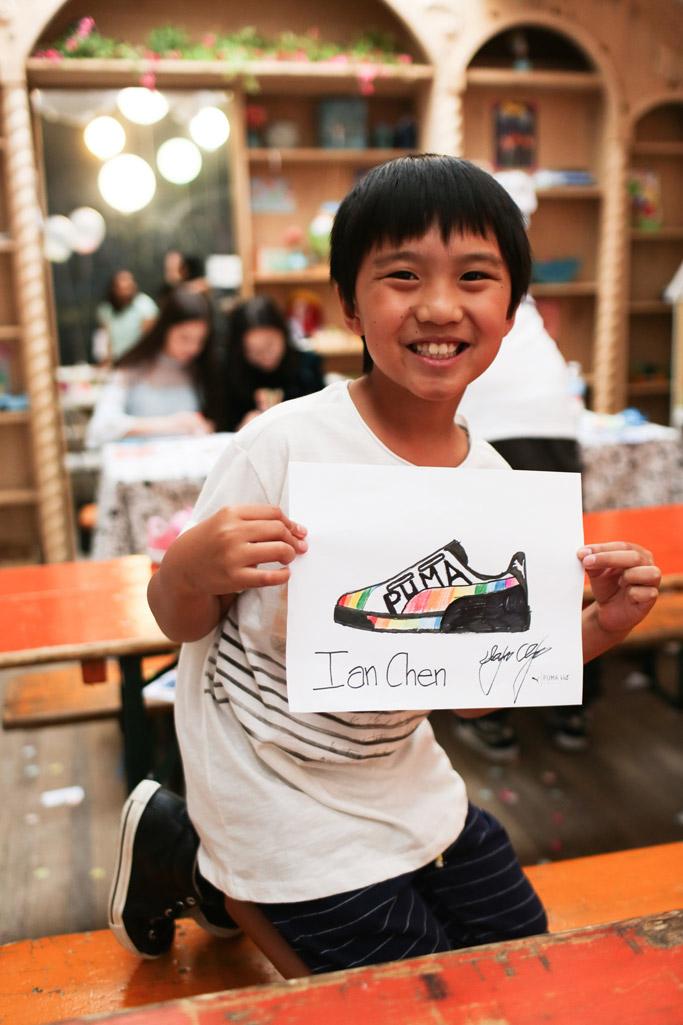 ian chen, puma, kids, sneakers