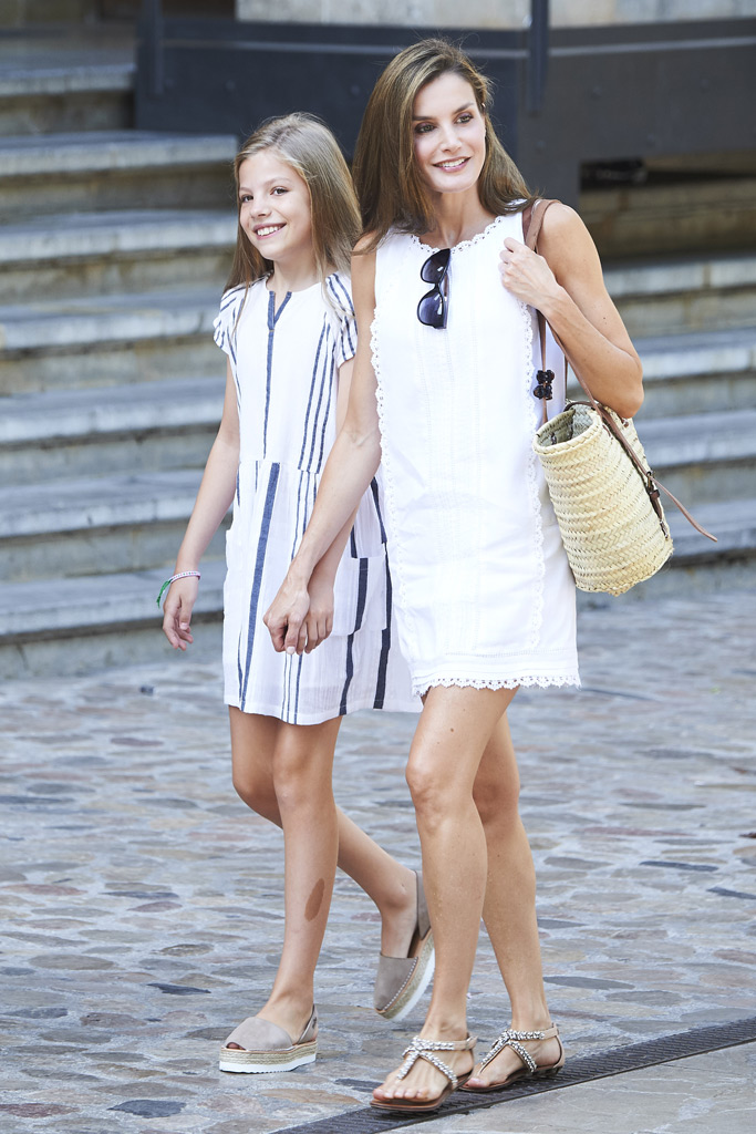 Queen Letizia, Princess Sofia