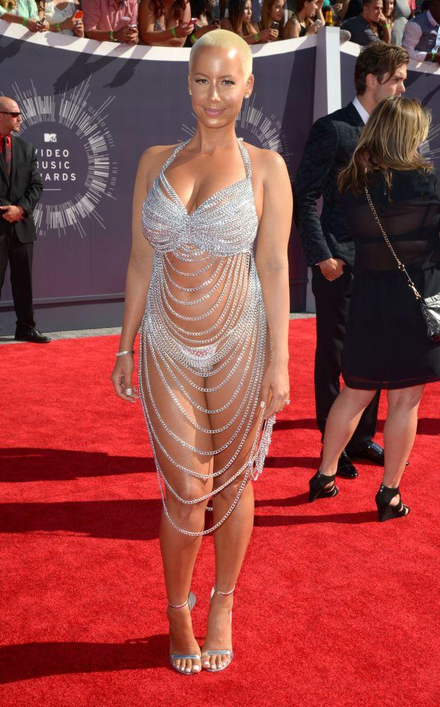 Amber RoseMTV Video Music Awards Arrivals, Los Angeles, America - 24 Aug 2014 WEARING LAUREL DEWITT
