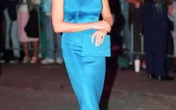 Princess Diana's mono-block style