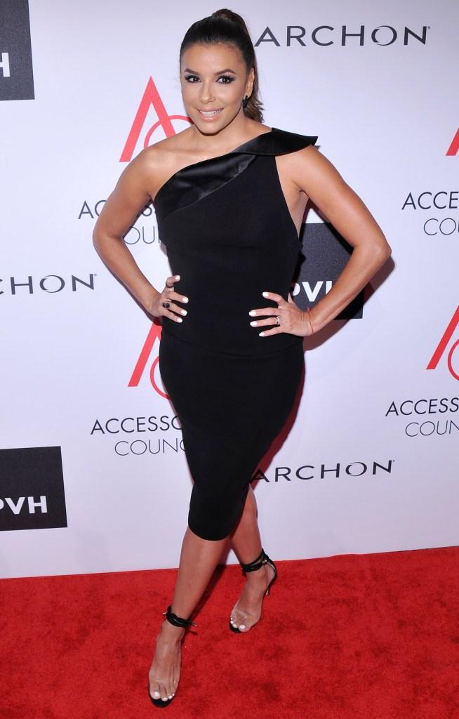 Eva Longoria at Ace Awards in New York City.