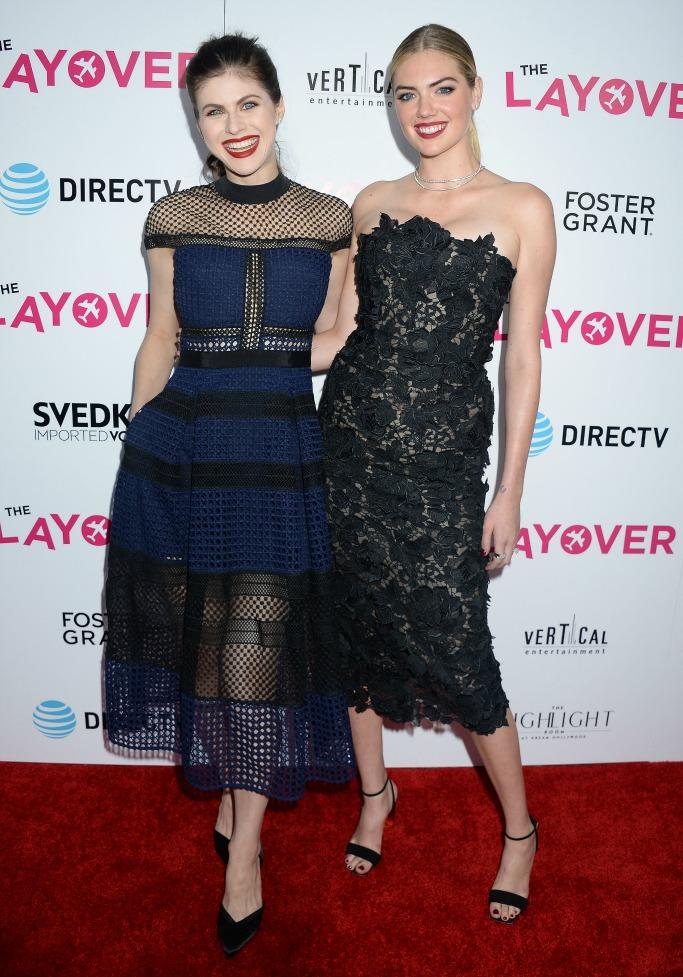 the layover, kate upton, Alexandra Daddario and Kate Upton, Alexandra Daddario