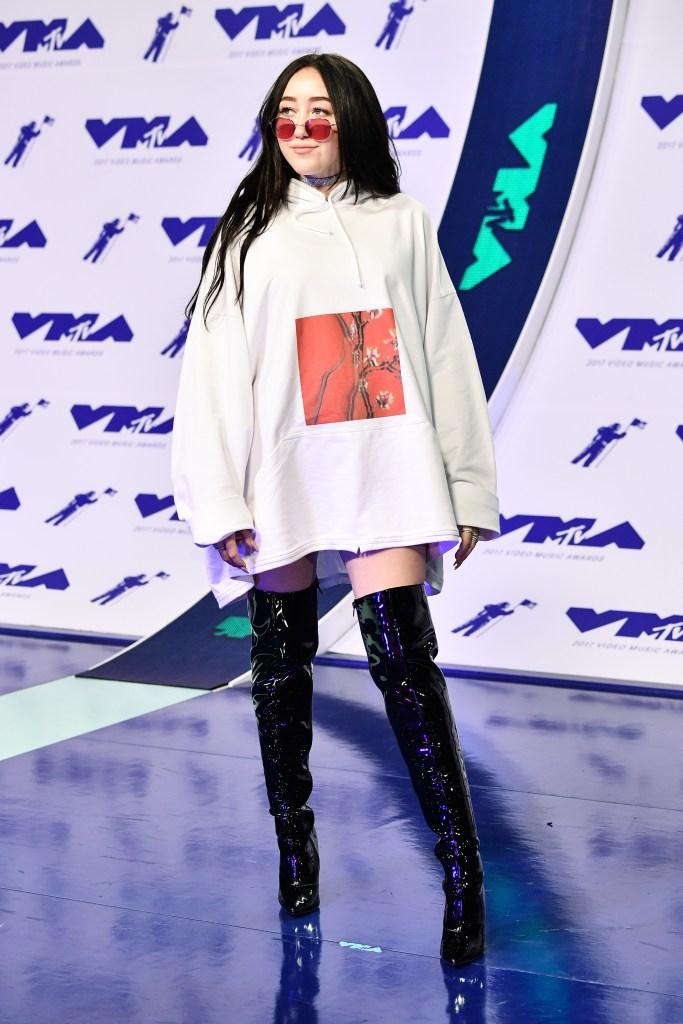 Noah Cyrus at the 2017 MTV Video Music Awards.