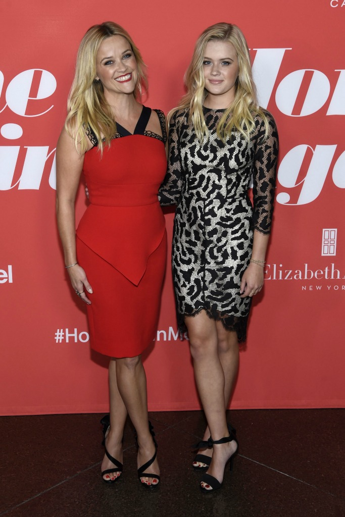 "Reese Witherspoon and Ava Phillippe at ""Home Again Premiere"""