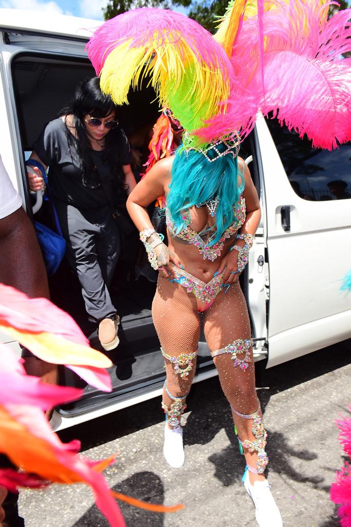 Rihanna, Crop Over Festival, Barbados