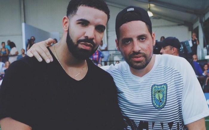 Ronnie Fieg and Drake