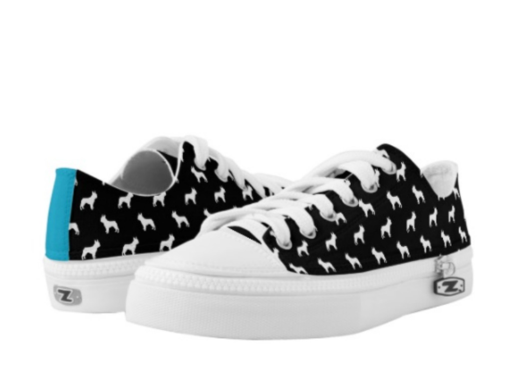 zazzle French Bulldog Low-Top Sneakers
