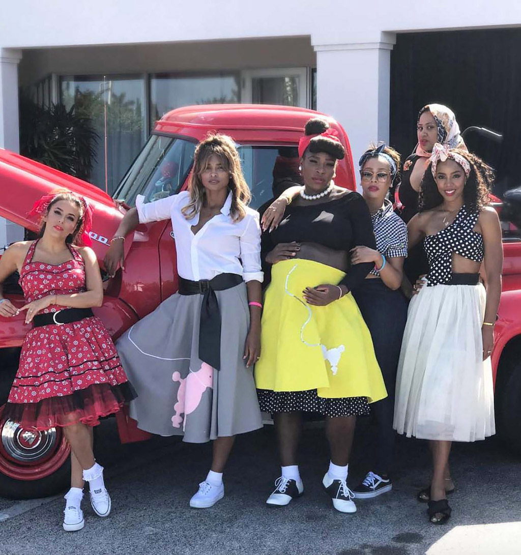 Eva Longoria, Ciara, Serena Williams, La La Anthony, Kelly Rowland