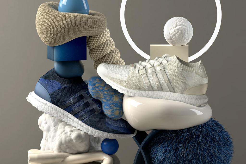 Sneakersnstuff x Adidas EQT Materials Pack