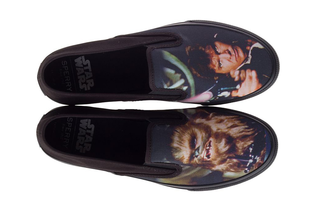 Star Wars x Sperry Cloud Slip-On Han and Chewie