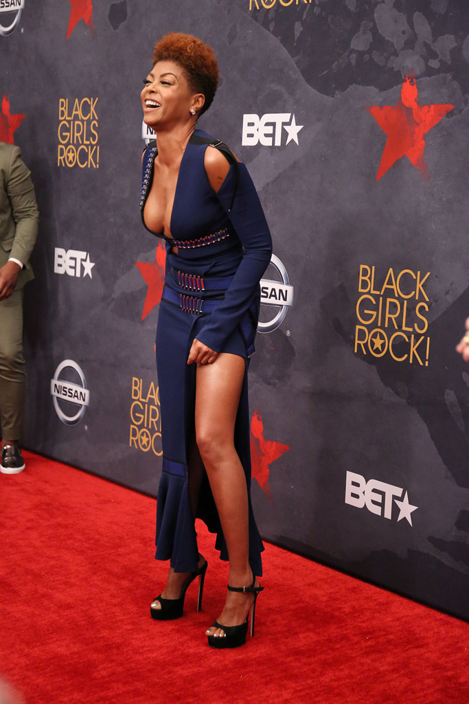 Taraji P. Henson, jimmy choo, hair, black girls rock