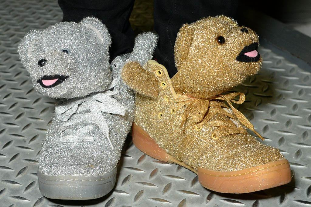 Adidas Teddy Bear Shoes Jeremy Scott