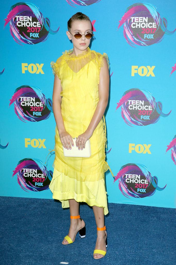 Millie Bobby Brown 2017 Teen Choice Awards