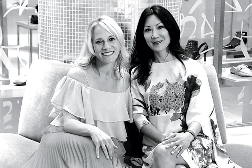 Tracy Margolies and Betty Wang of Saks Fifth avenue