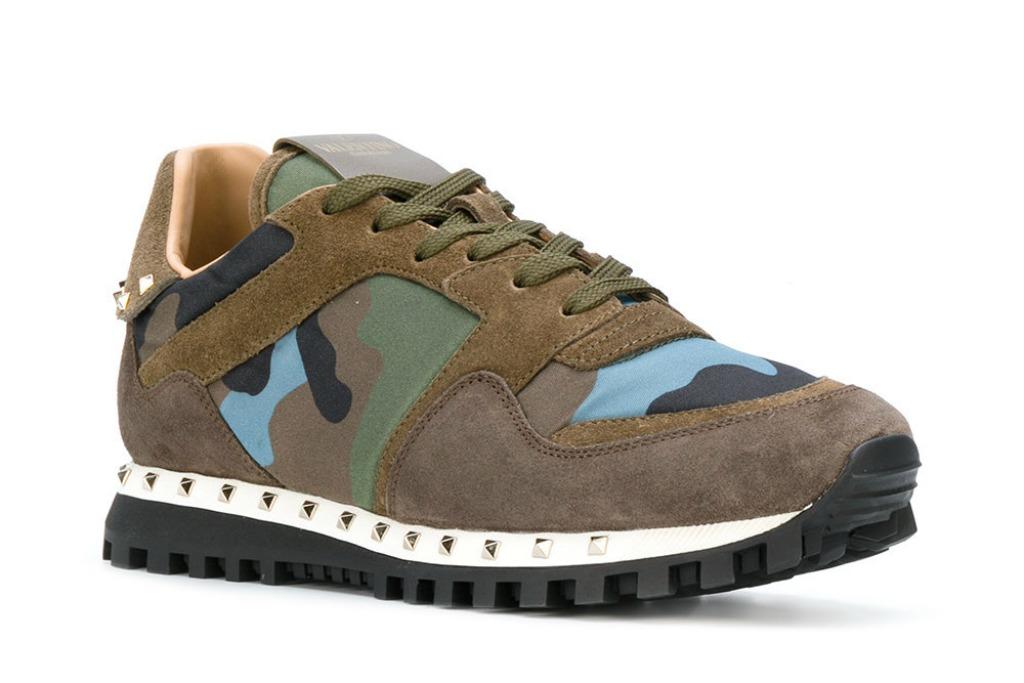 valentino garavani Camouflage Sneakers