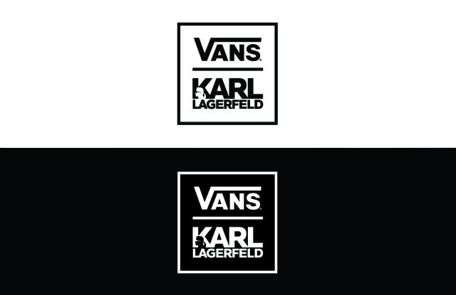 Vans X Karl logo.