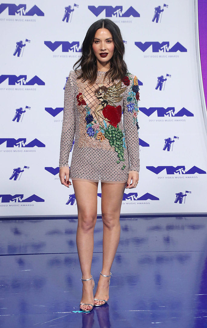 olivia munn, mtv vmas, video music awards