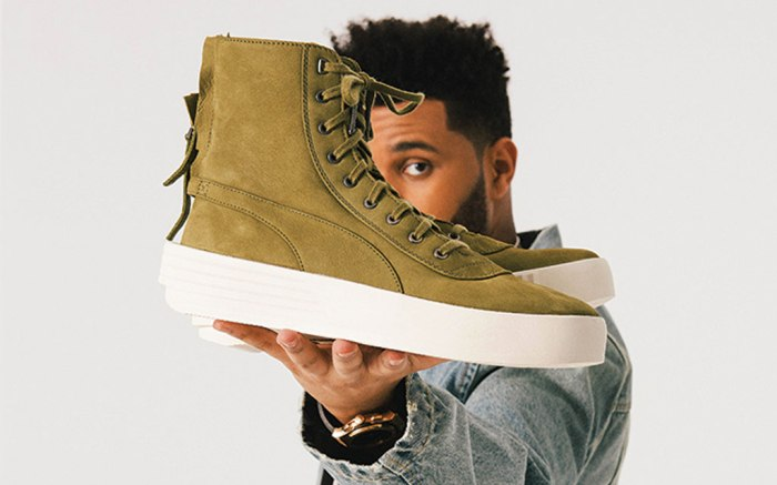 The Weeknd Puma Launch