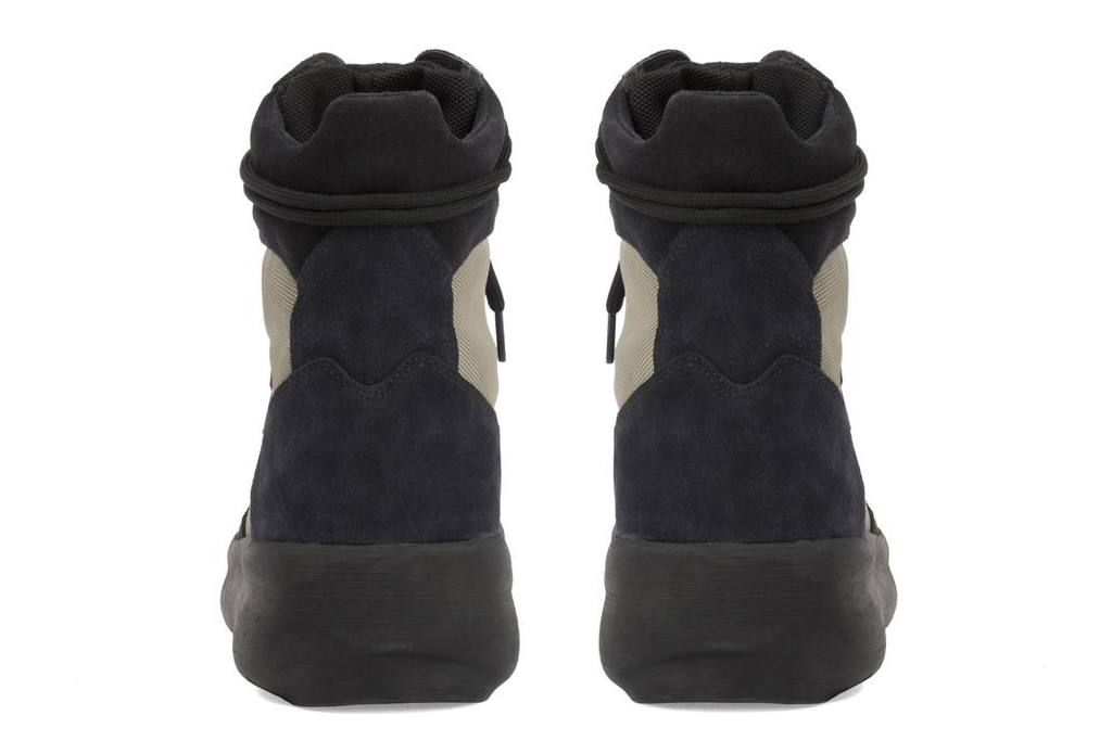 Yeezy Suede Military Boot