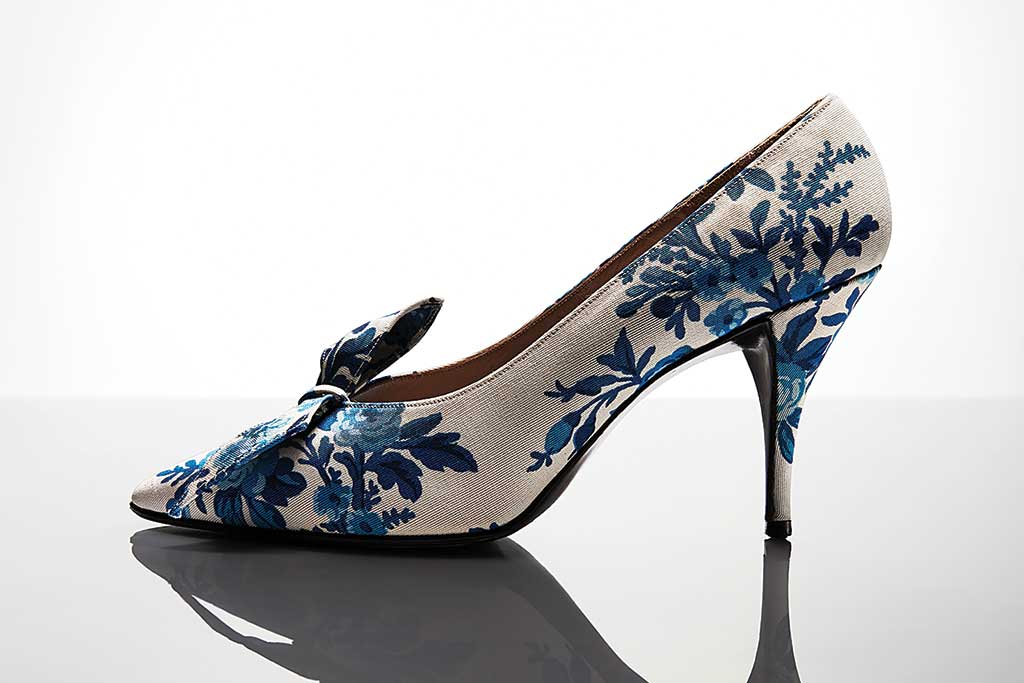 Dior 1959 style designed by Roger Vivier
