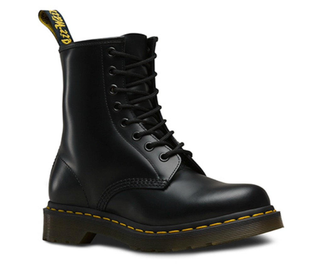 women's dr. martens smooth 1460 smooth boot