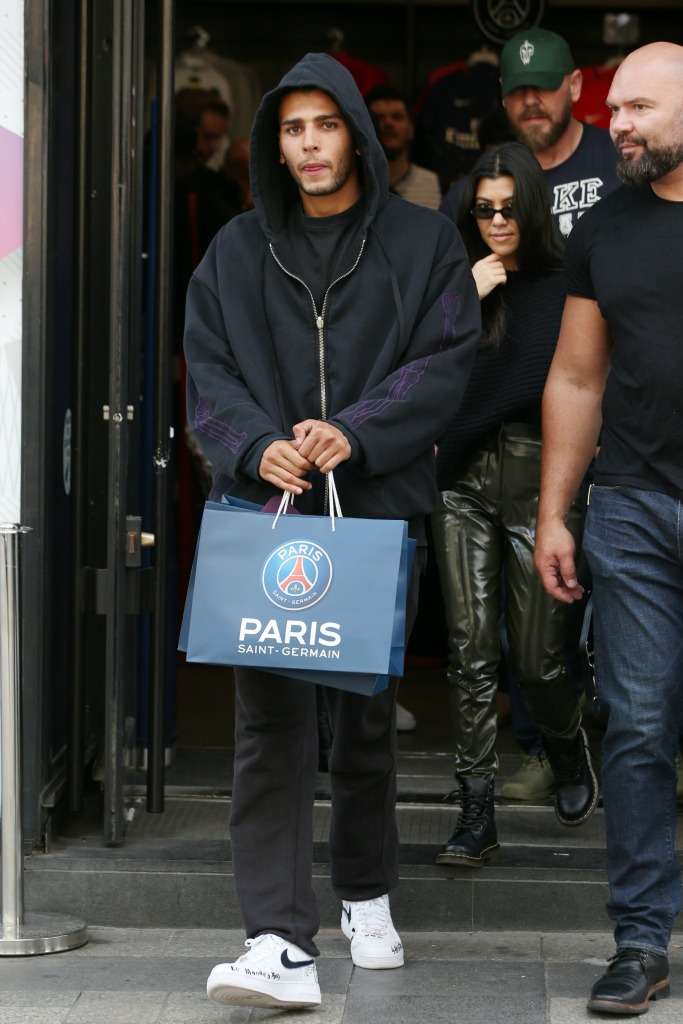 paris saint-germain, Kourtney Kardashian and Younes Bendjima