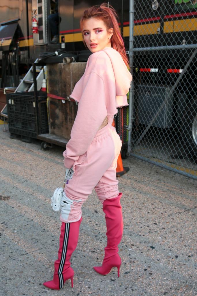 bella thorne, new york fashion week