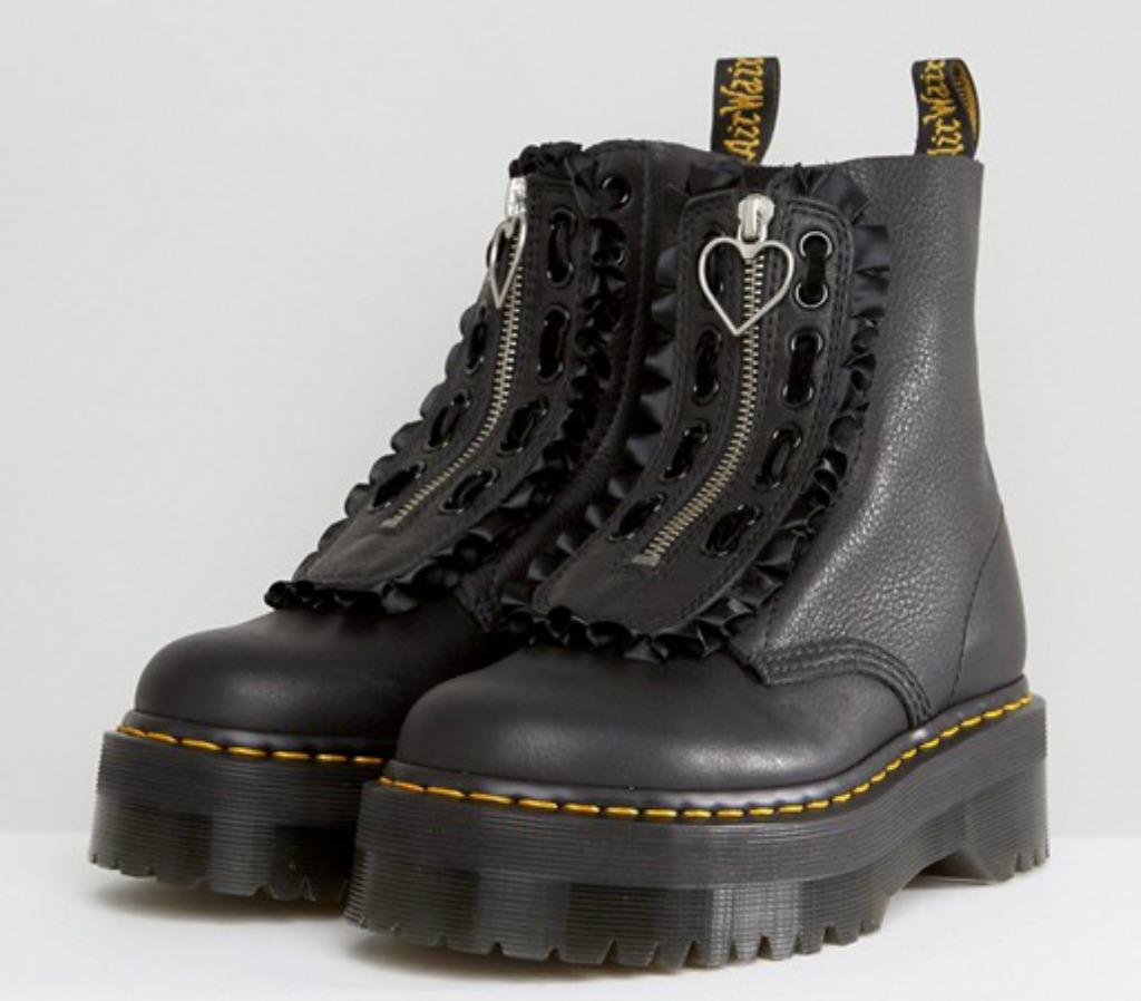 Dr Martens x Lazy Oaf Flatform Jungle Boots