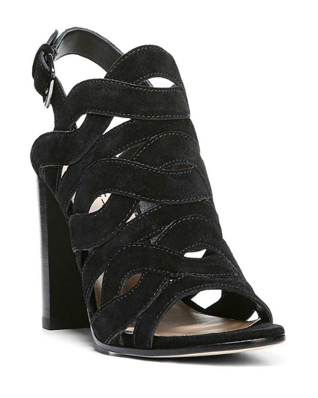 Via Spiga Galore Cutout High Heel Slingback Sandals