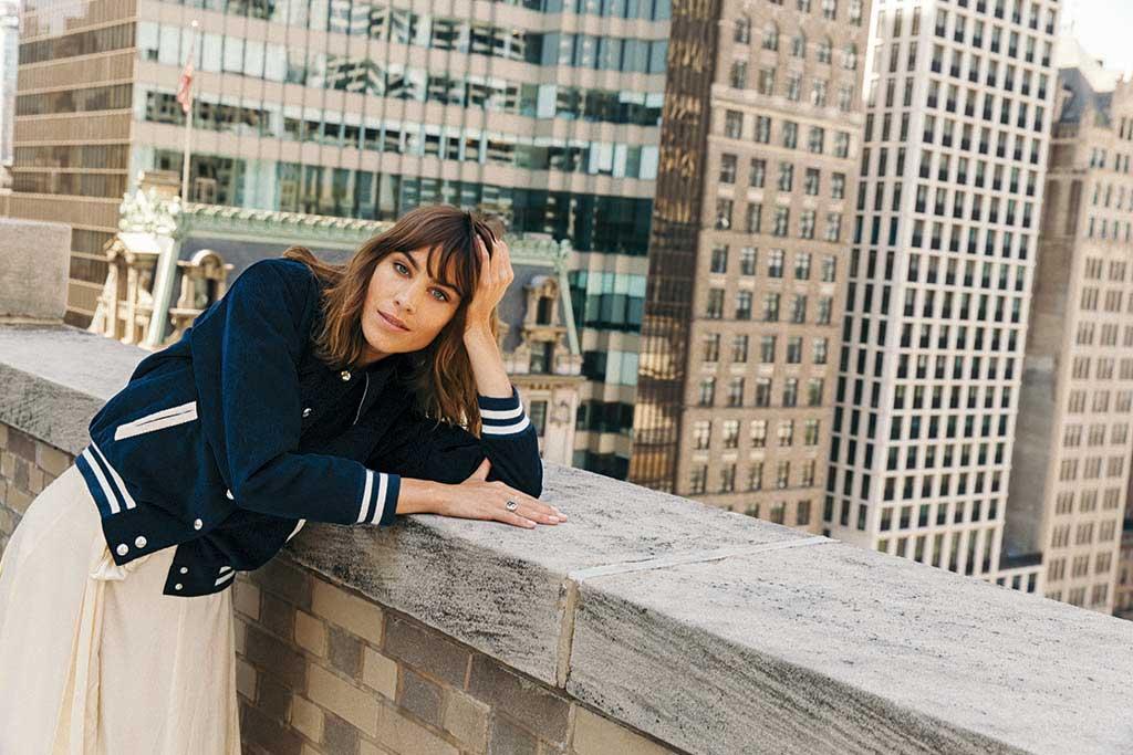 Alexa Chung Footwear News