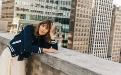 Alexa Chung Footwear News Cover Shoot