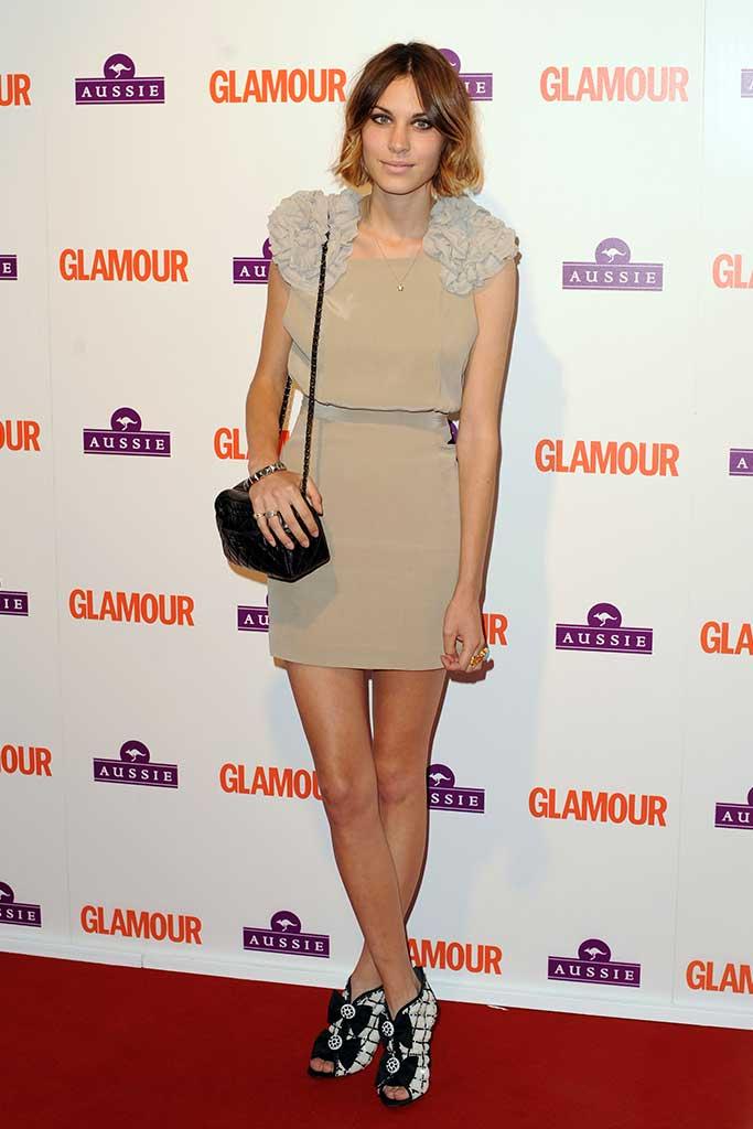 Alexa Chung Glamour Awards