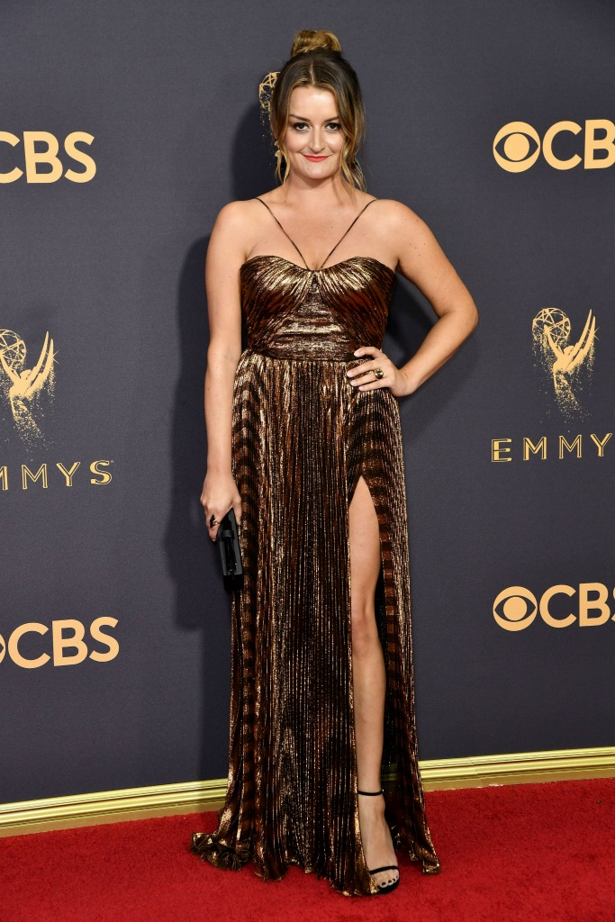 Alison Wright at the 69th Emmy Awards