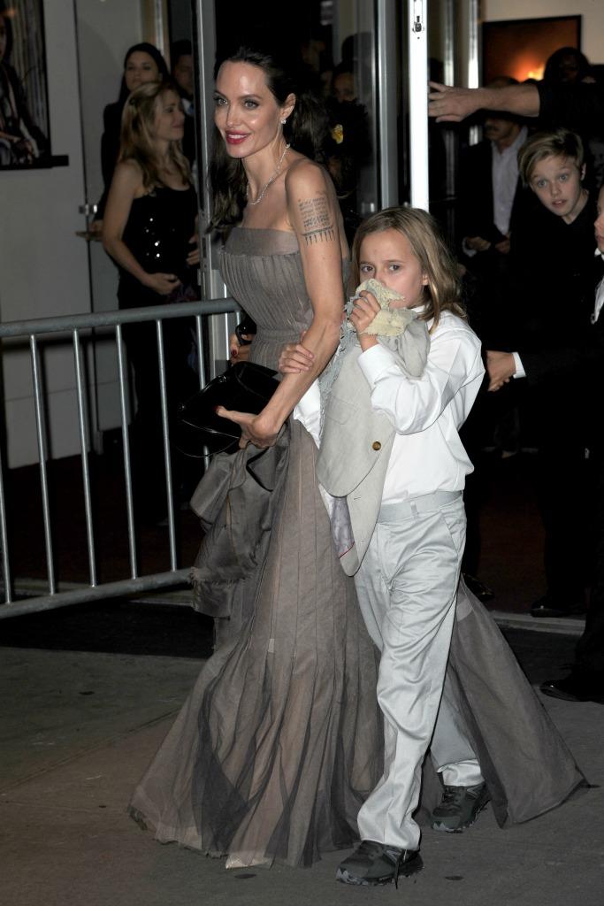 Angelina Jolie with Vivienne Jolie-Pitt