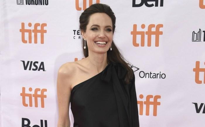 Angelina Jolie at the Toronto International Film Festival