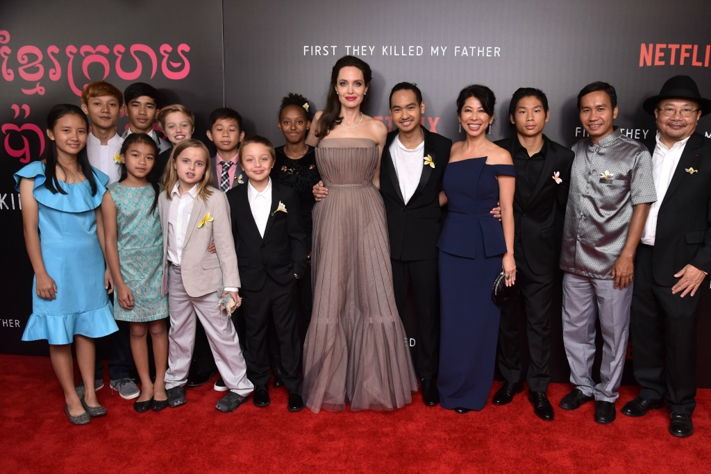 Angelina Jolie First They Killed My Father premiere